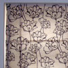 Ambience Home Furnishings - floral cream and black blind